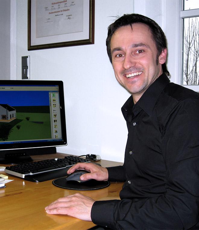 Geschäftsführer Erik Wolf