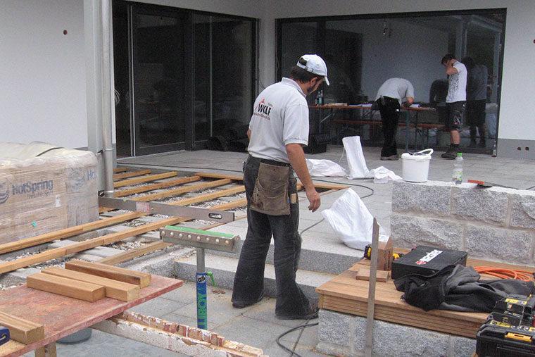 Schreinerarbeiten mit Holzbau Wolf
