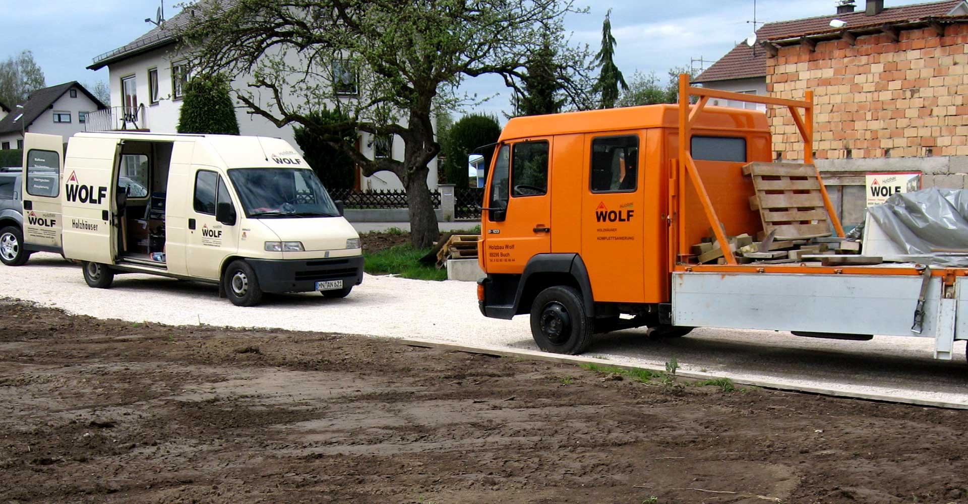 Holzbau Wolf GmbH & Co. KG in Buch bei Krumbach