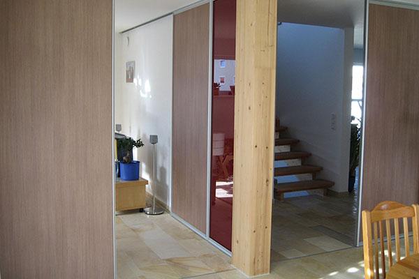 Türen bei Hausbau Wolf