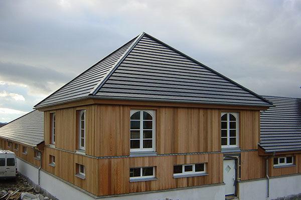 Referenzholzhaus in Schottland